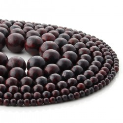 Breccia Jasper round beads