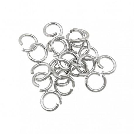 Open brass ring