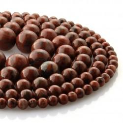 Sesame Jasper round beads