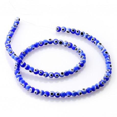 Turkish Eye Beads 4 mm