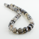 10 mm Gray Dragon Agate round beads