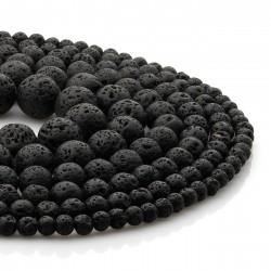 Lava - volcanic stone beads