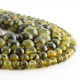 Green Dragon Agate round beads