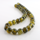 10 mm Green Dragon Agate round beads