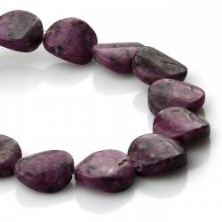 Purple dyed Kiwi Jaspe